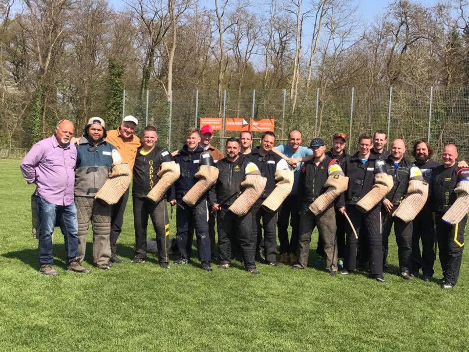 Alex Rodriguez certified ADRK helper in Germany 2017 helper tryouts